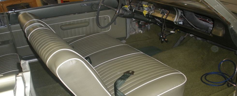 Ford Falcon Interior After
