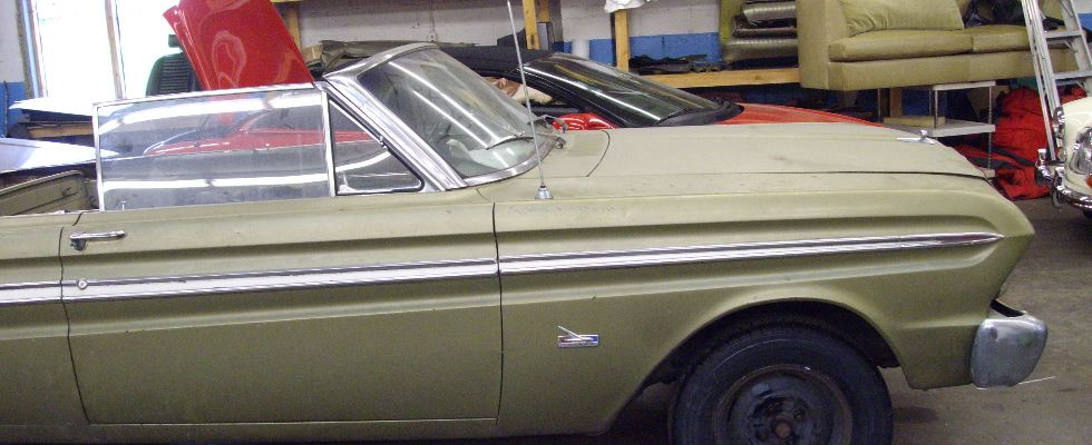 Ford Falcon Top Before