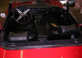 Austin Healey Interior